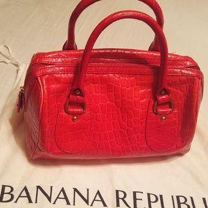 Banana Republic Leather Handbag Collection Bag NWT